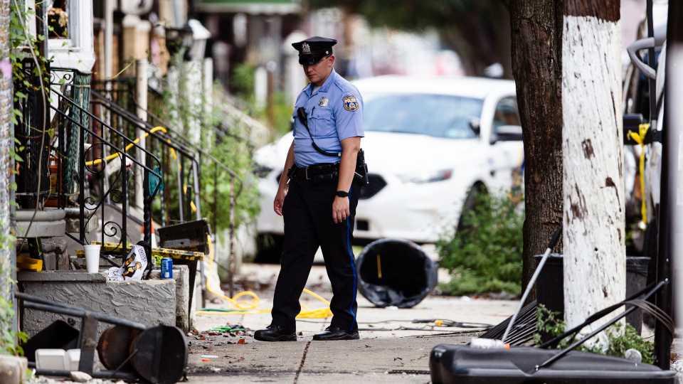 Philadelphia standoff officer-involved shooting
