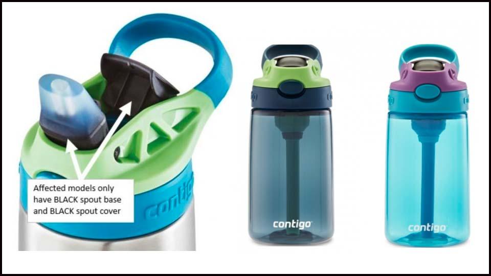 Recalled Contigo Bottles