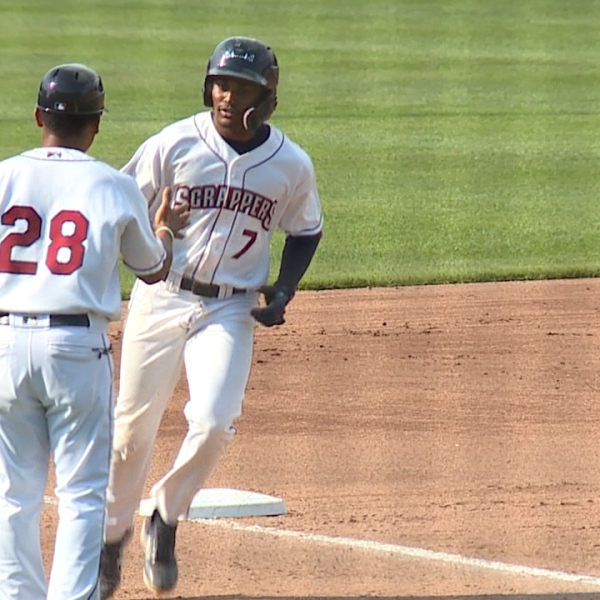 scrappers offense pounds muckdogs at eastwood field