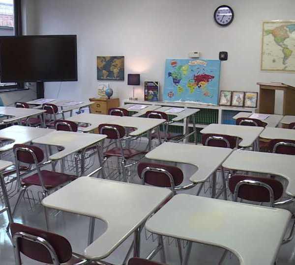 Boardman school classroom