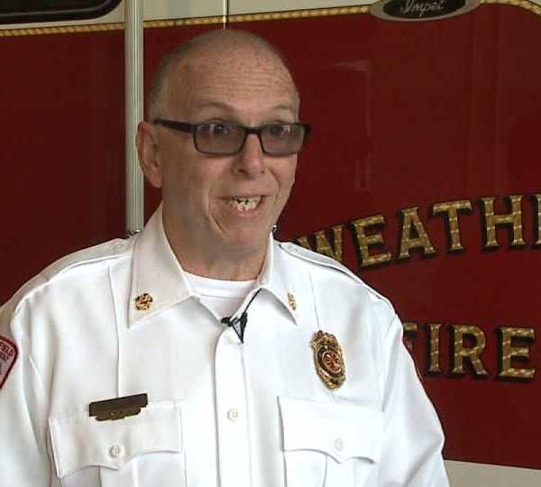 Late Weathersfield Fire Chief Randall Pugh