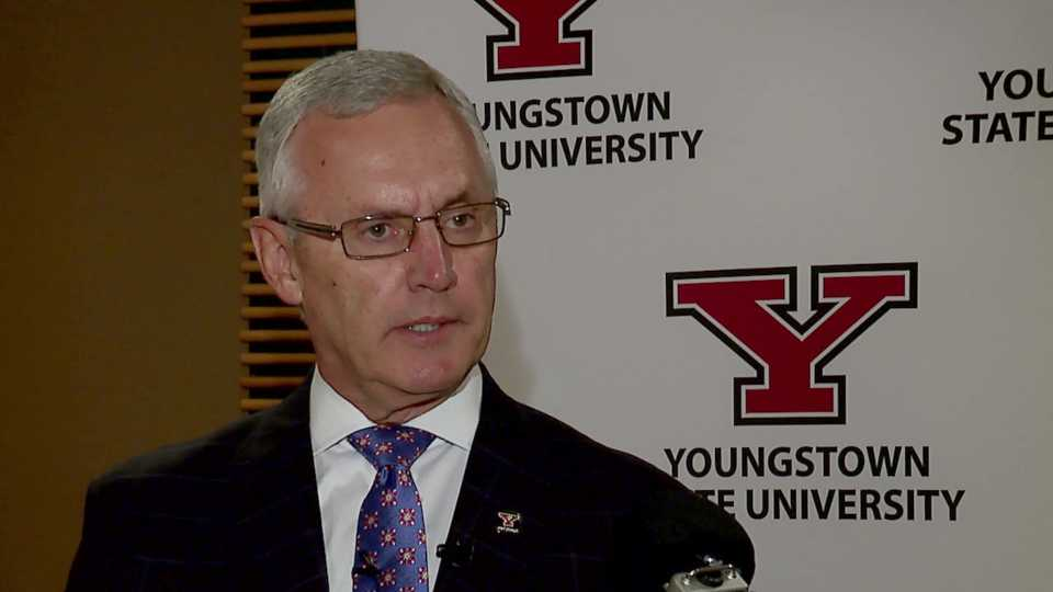 Youngstown State President Jim Tressel