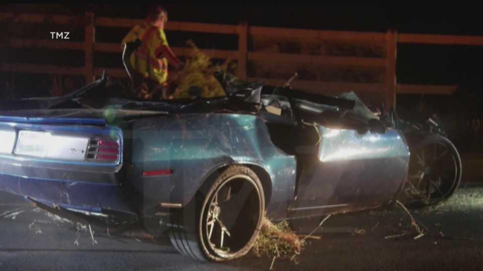 Kevin Hart car crash in Malibu