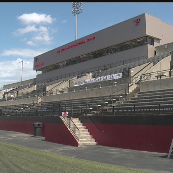 Renovations to east side grandstand complete at YSU's Stambaugh Stadium