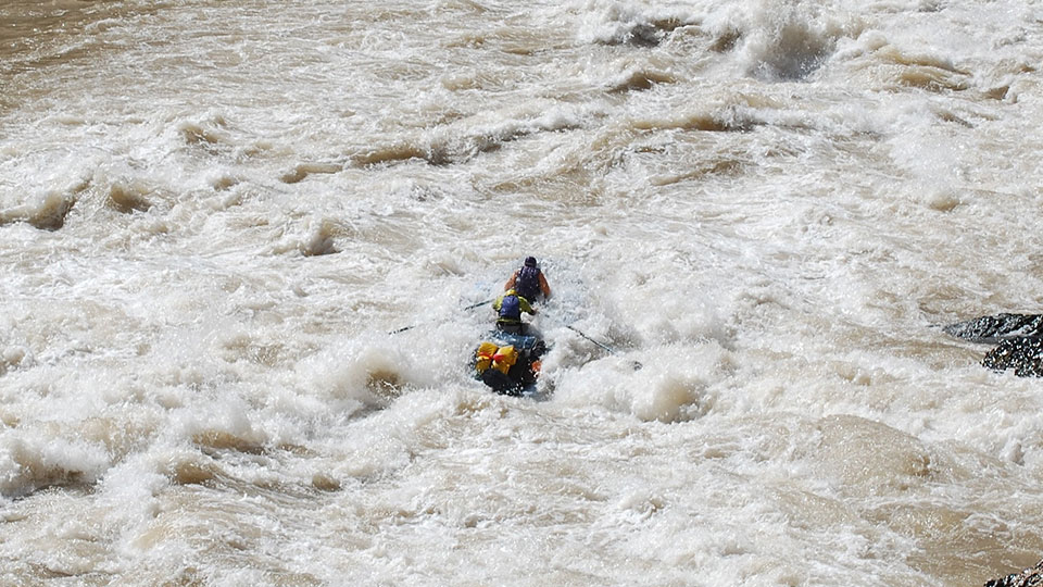 White Water Rafting Death