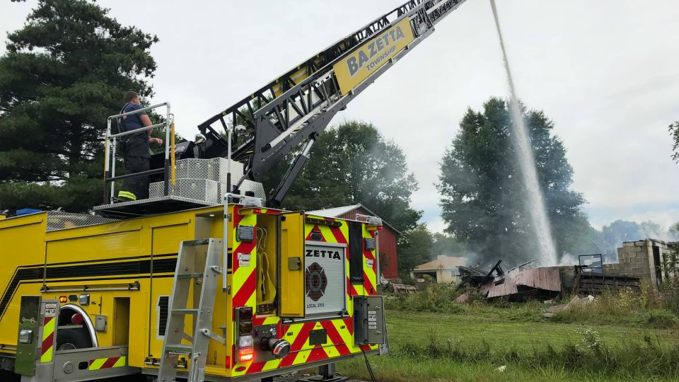 A new fire rating in Bazetta Township could cut insurance costs