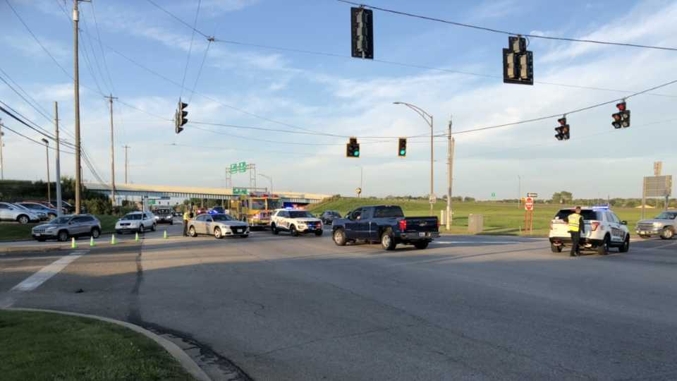 Troopers reopen intersection after two-vehicle crash in