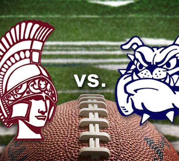 Boardman Spartans vs. Poland Bulldogs, high school football.