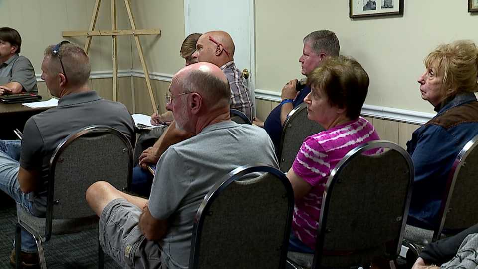 Bristol Township trustees meeting