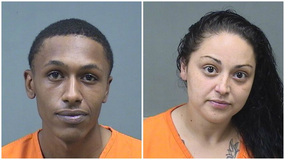 Jermaine Bunn and Elizabeth Martel-Velaquez are facing gun charges in Youngstown.