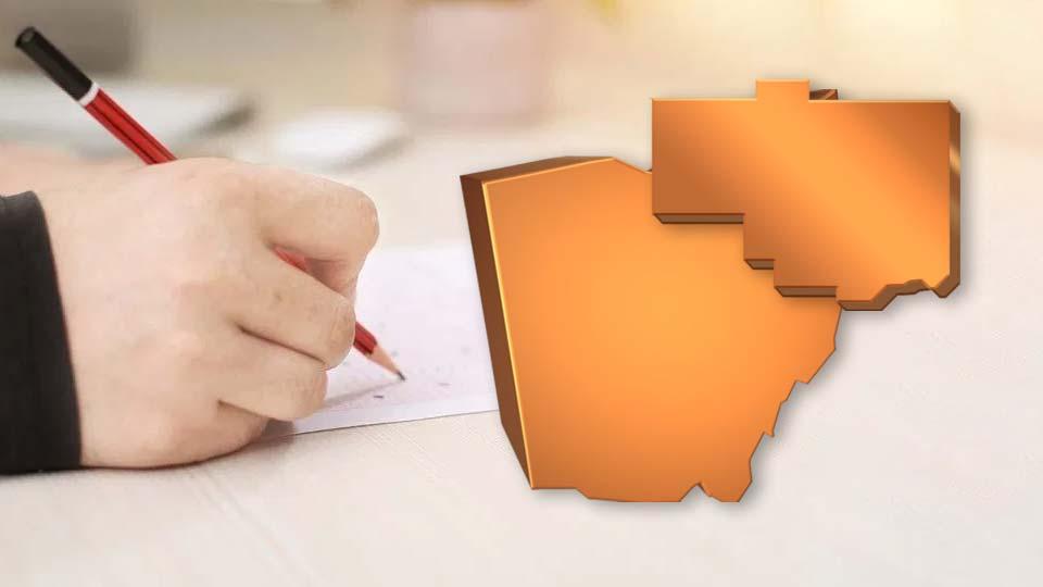 Columbiana County, Ohio, report card.