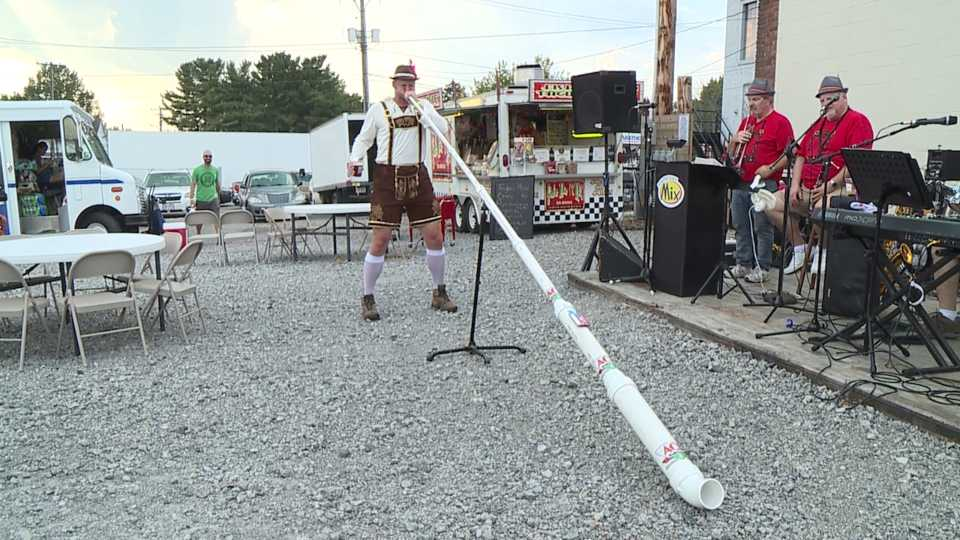 Columbiana celebrates Oktoberfest with music, food and games.