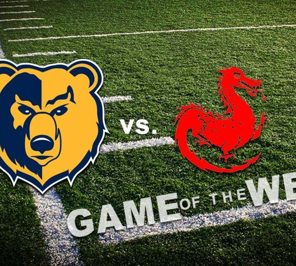 East Golden Bears vs. Niles Red Dragons High School Football Game of the Week