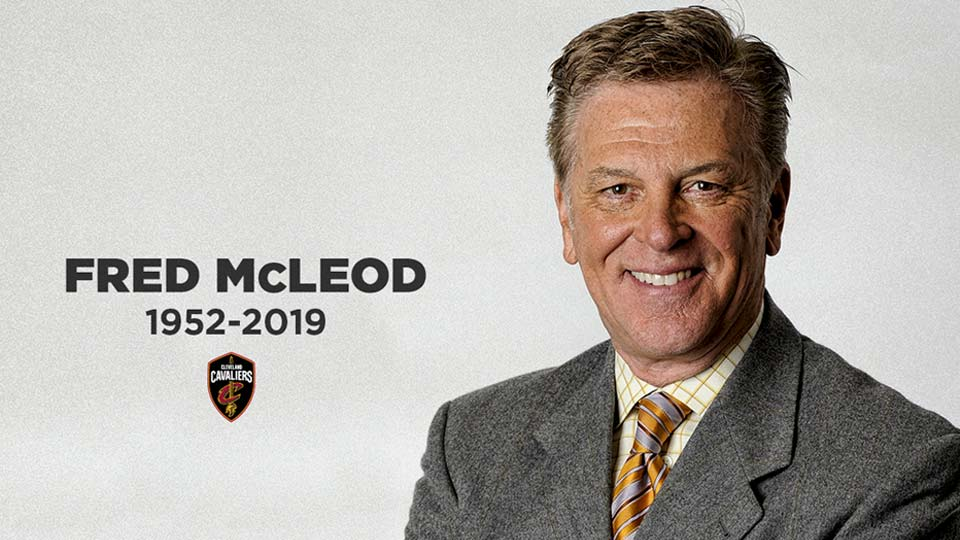 Fred McLeod, Cleveland Cavaliers Broadcaster passes away.