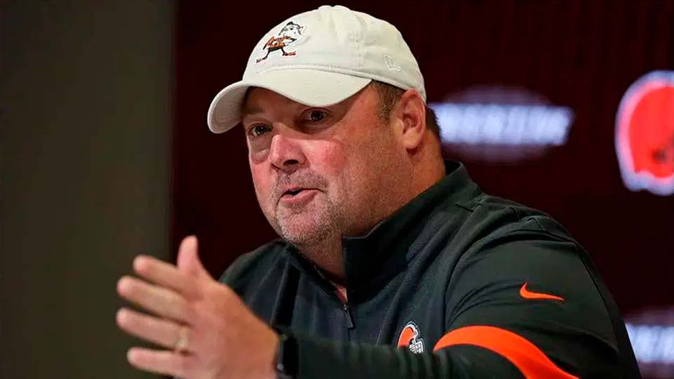 Freddie Kitchens, Cleveland Browns Head Coach.