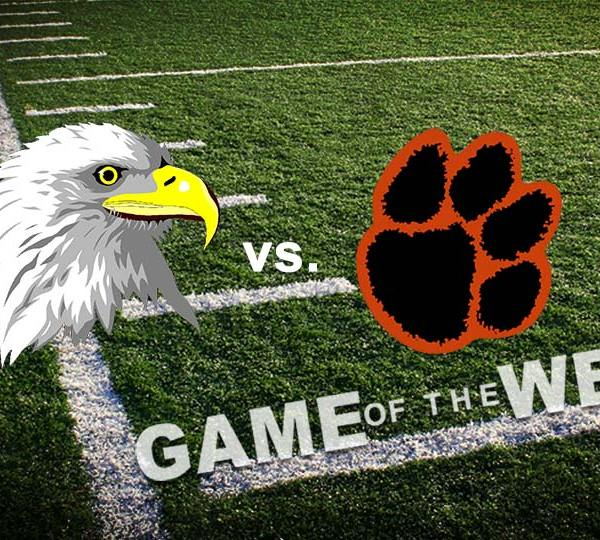Grove City Eagles vs. Sharon Tigers High School Football Game of the Week