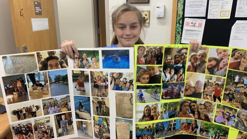 Kara Andre takes trip to Denmark with Children's International Summer Village.