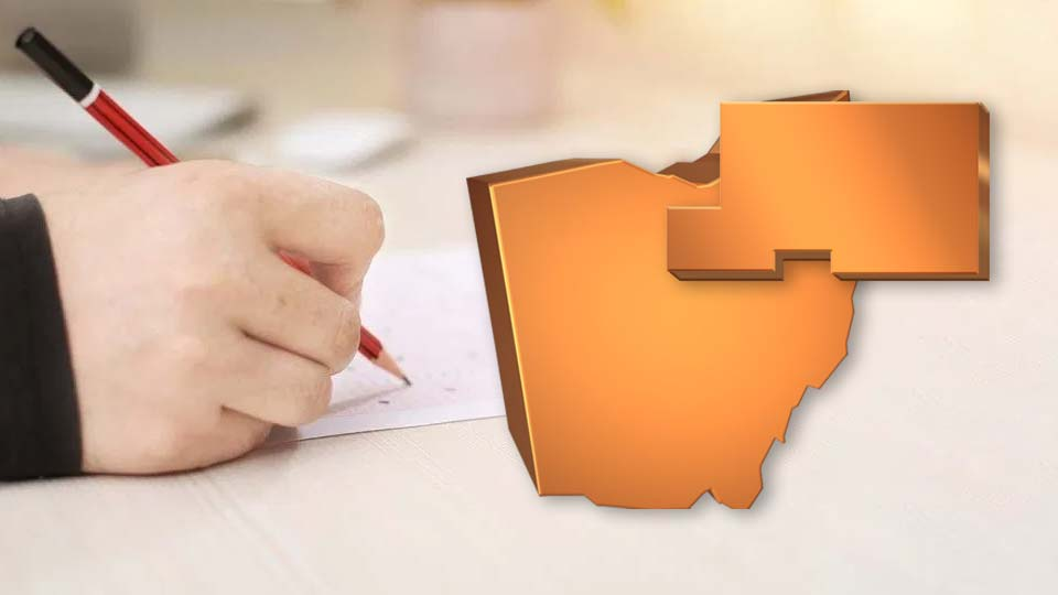 Mahoning County, Ohio, report card.
