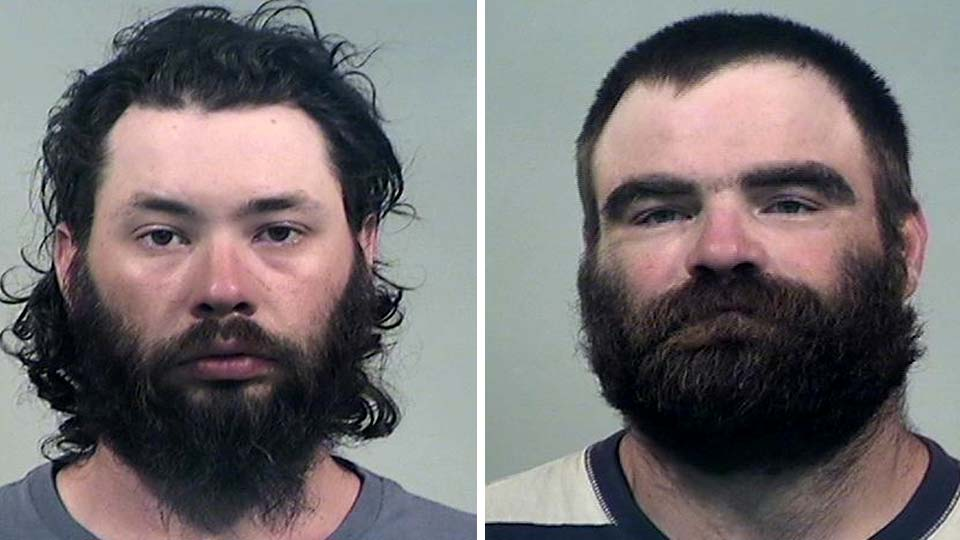 Max Sparks and David Nelson, charged with robbery in Liberty Twp.