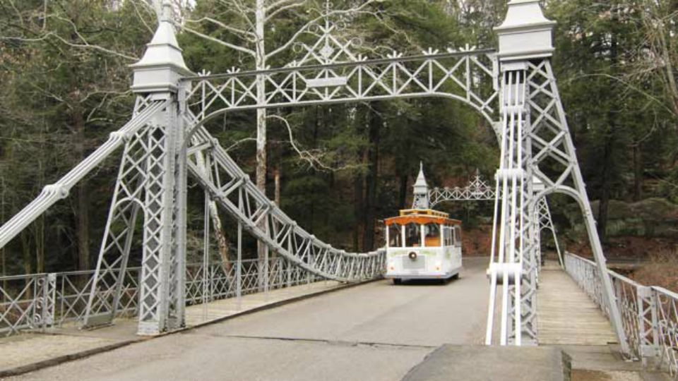 Mill Creek Park Suspension Bridge