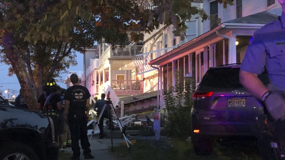 New Jersey deck collapse