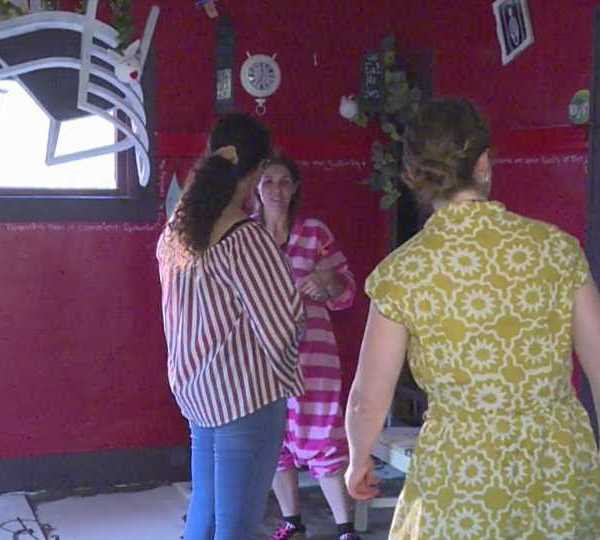 Occupy Warren transforms abandoned house into art