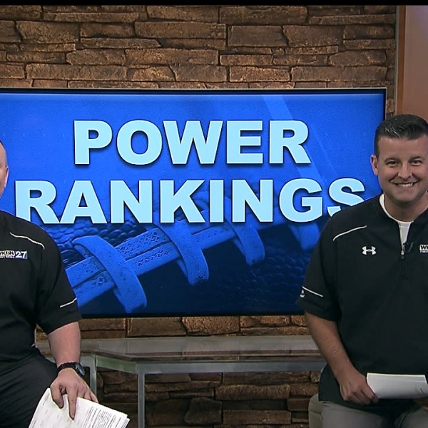 Every Wednesday, WKBN Sports Team 27 will rank the top ten high school football teams from here in the Valley