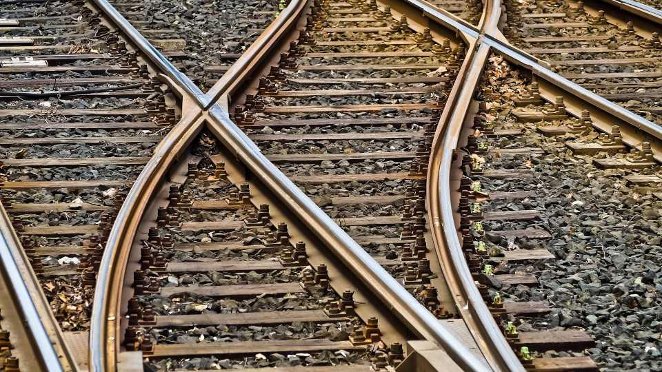 Railroad tracks train generic