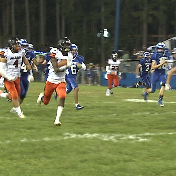 Sharon grabbed their 3rd-straight win Saturday night to move their record to 3-2 overall