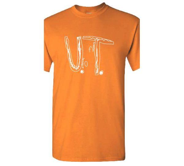 Students designs U.T. t-shirt
