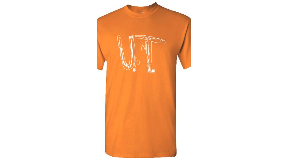 Students designs U.T. t-shirt