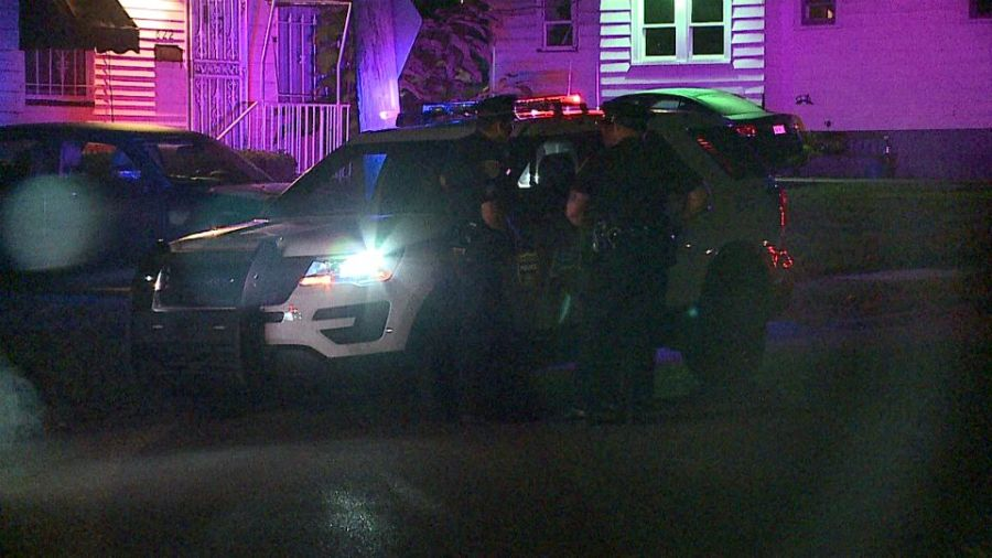 A person was shot on the south side of Youngstown.
