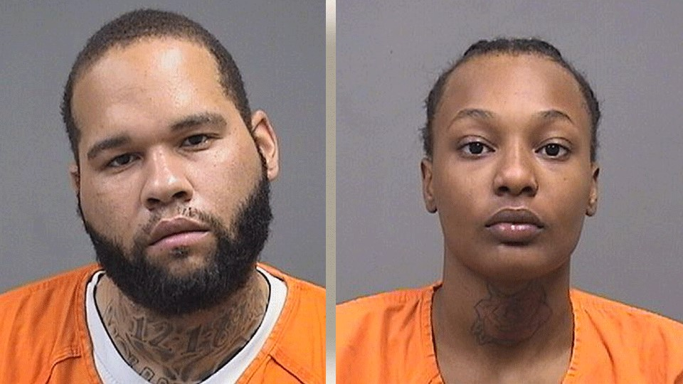 Bernard Hasley, charged with felonious assault, improperly handling a firearm and drug possession. Janell Calhoun, charged with felonious assault.