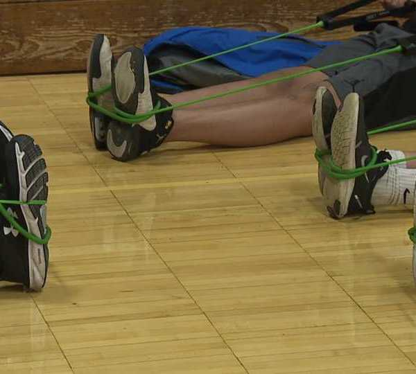 Boardman Glenwood Junior High School is taking strides to battle teen obesity in the area, which is growing.