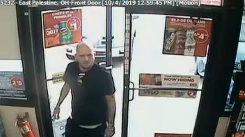 East Palestine police are looking for person of interest in an auto theft.