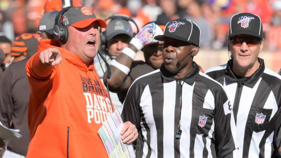 Freddie Kitchens NFL Officiating