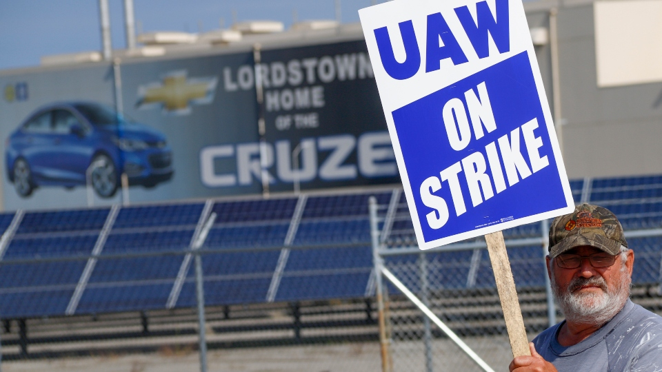 GM Lordstown UAW strike