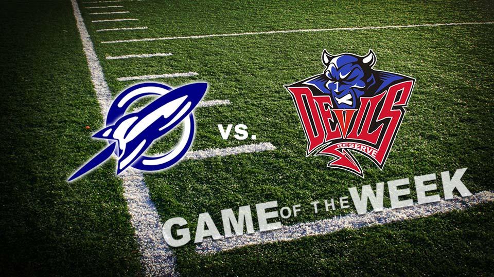 Lowellville Rockets vs. Western Reserve Blue Devils High School Football Game of the Week