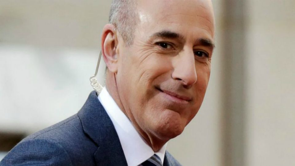 Former NBC anchor Matt Lauer is accused of rape.