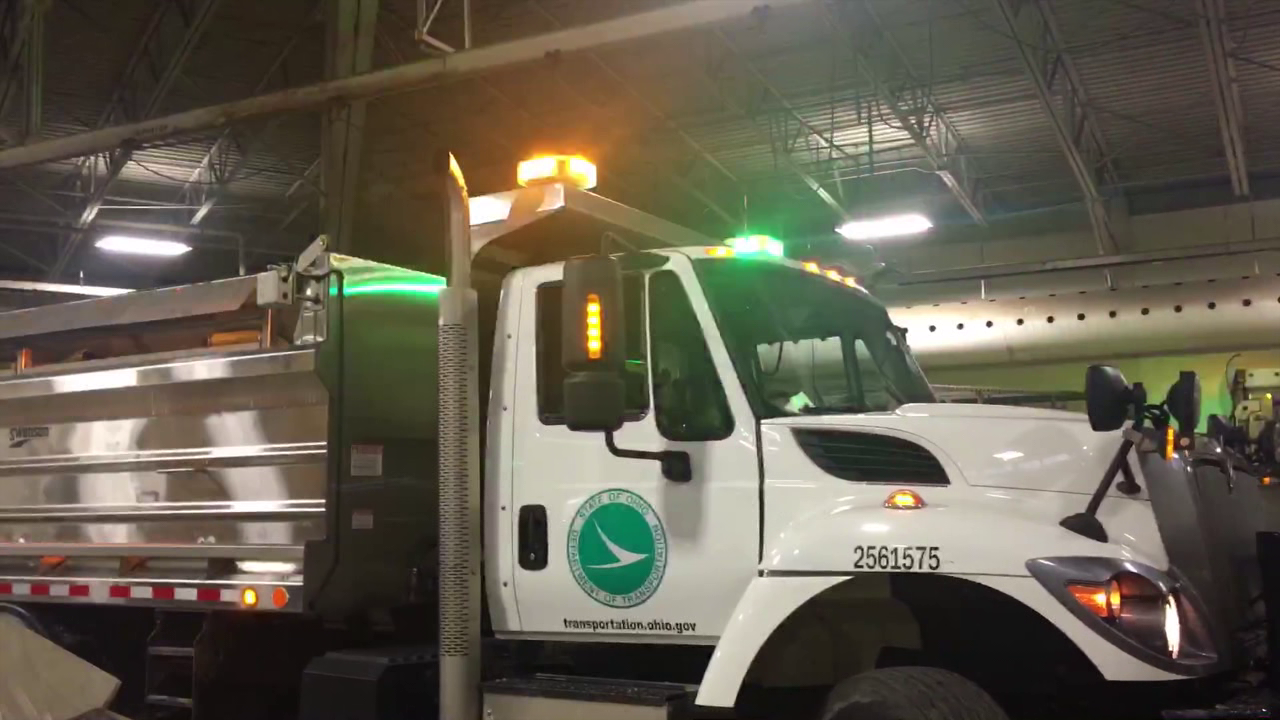 Workers with the Ohio Department of Transportation say they're ready for the upcoming winter season — no matter what Mother Nature has in store.