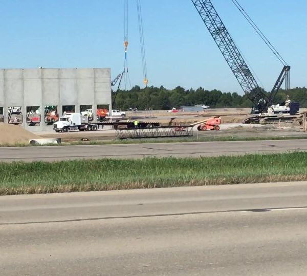 TJX walls are going up in Lordstown