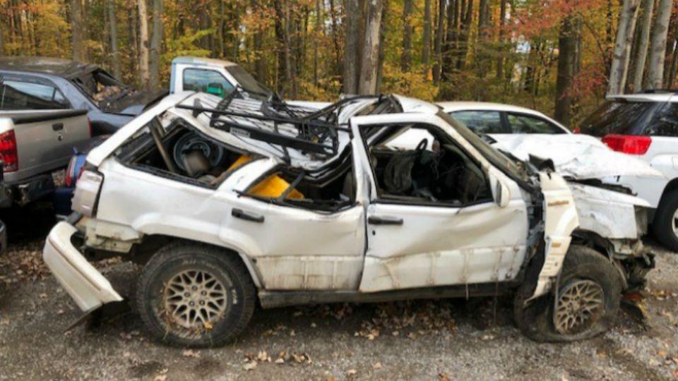 Teen injured in Vernon Twp. crash.
