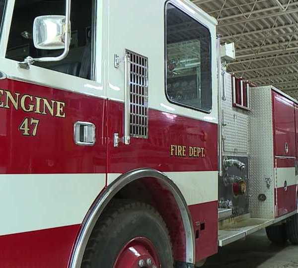 Warren Township Fire Truck that is being sent to Guatemala.