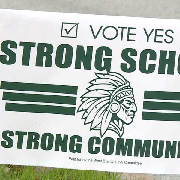West Branch school levy