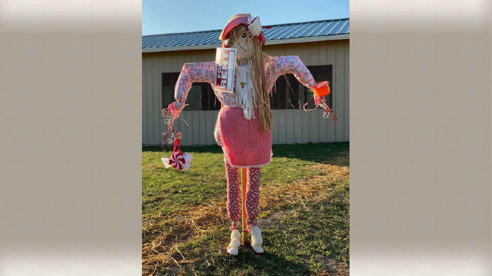 White House Fruit Farm Scarecrow Contest - 1st Place