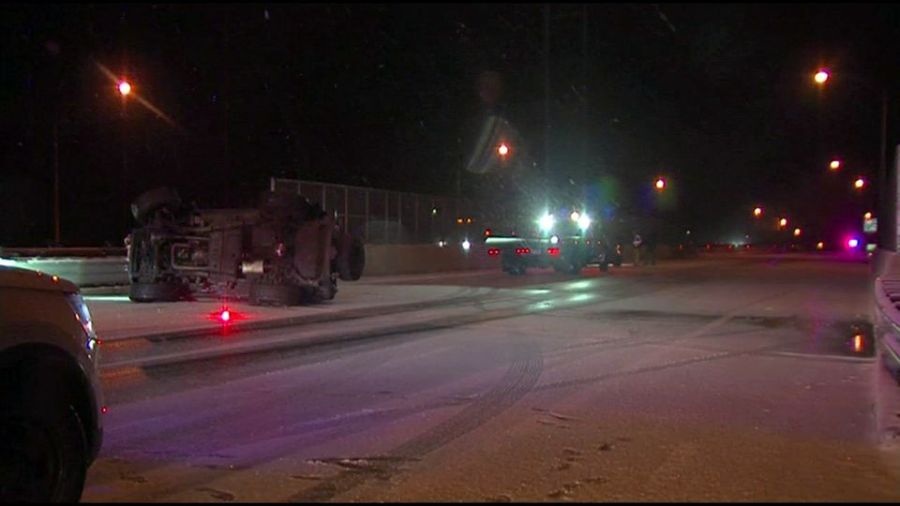 Multiple accidents are being reported Friday morning across the Valley.