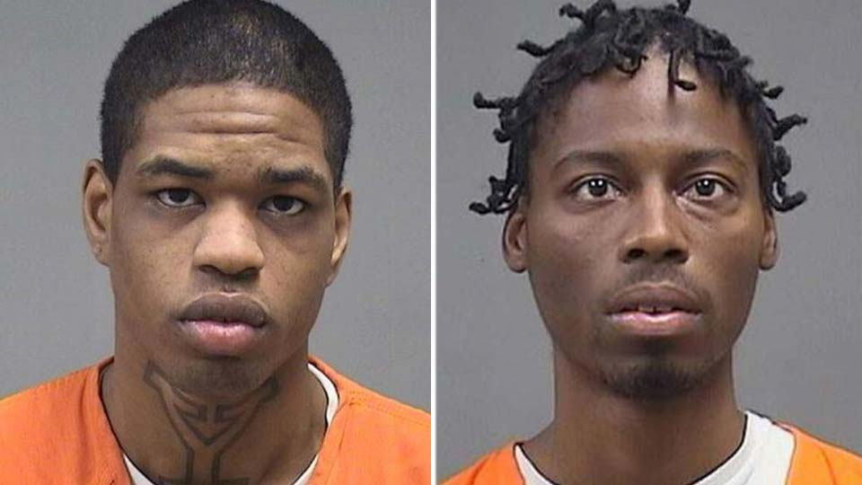 Brian Donlow and Stephon Hopkins are charged with the murder of Brandon Wylie in Youngstown