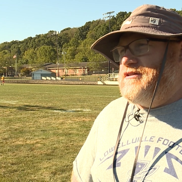 Veteran Doug Velasquez has announced that he is stepping down as head football coach at Lowellville.