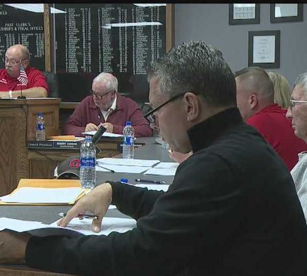 New Middletown village council meeting