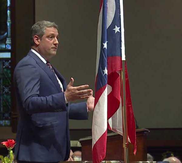 Tim Ryan at Warren Veterans Day event
